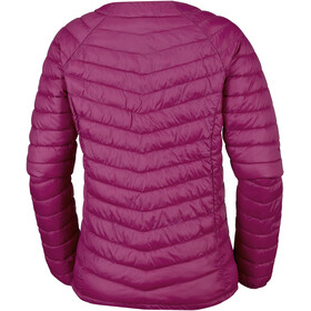 Columbia Powder Pass Giacca Donna, rosso